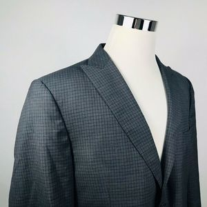 Joseph Jos A Bank Mens 44S Sport Coat Gray Plaid